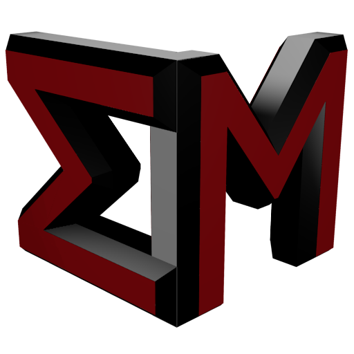 Logo of Ekaterina Mechkov, made of her initials, the letters E and M.